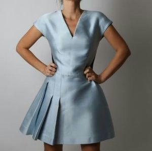 VIKTOR & ROLF Light Blue Hail Storm Dress